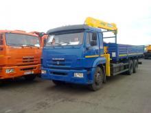 КАМАЗ 65117 с КМУ SOOSAN 736 TOP