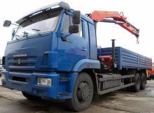 КАМАЗ 65117 c КМУ Palfinger PK15500
